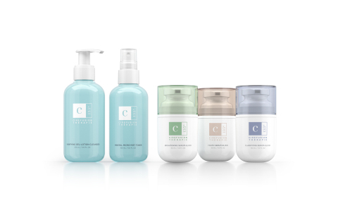 Cirefusion Thérapie 135° Purifying Gel-Lotion, Micro-Mist Toner, Youth Serum-Elixir, Brightening Serum-Elixir, and Clarifying Serum-Elixir (Photo: Business Wire)