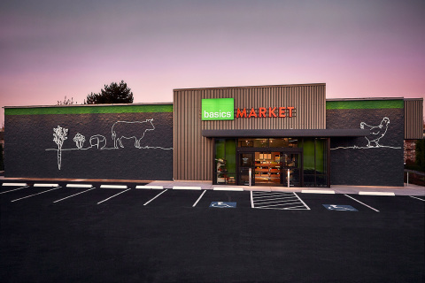 Basics, a new food market designed to help people cook more at home with a bounty of fresh, regional ingredients, is opening this month in Tualatin, Ore. (Photo: Business Wire)