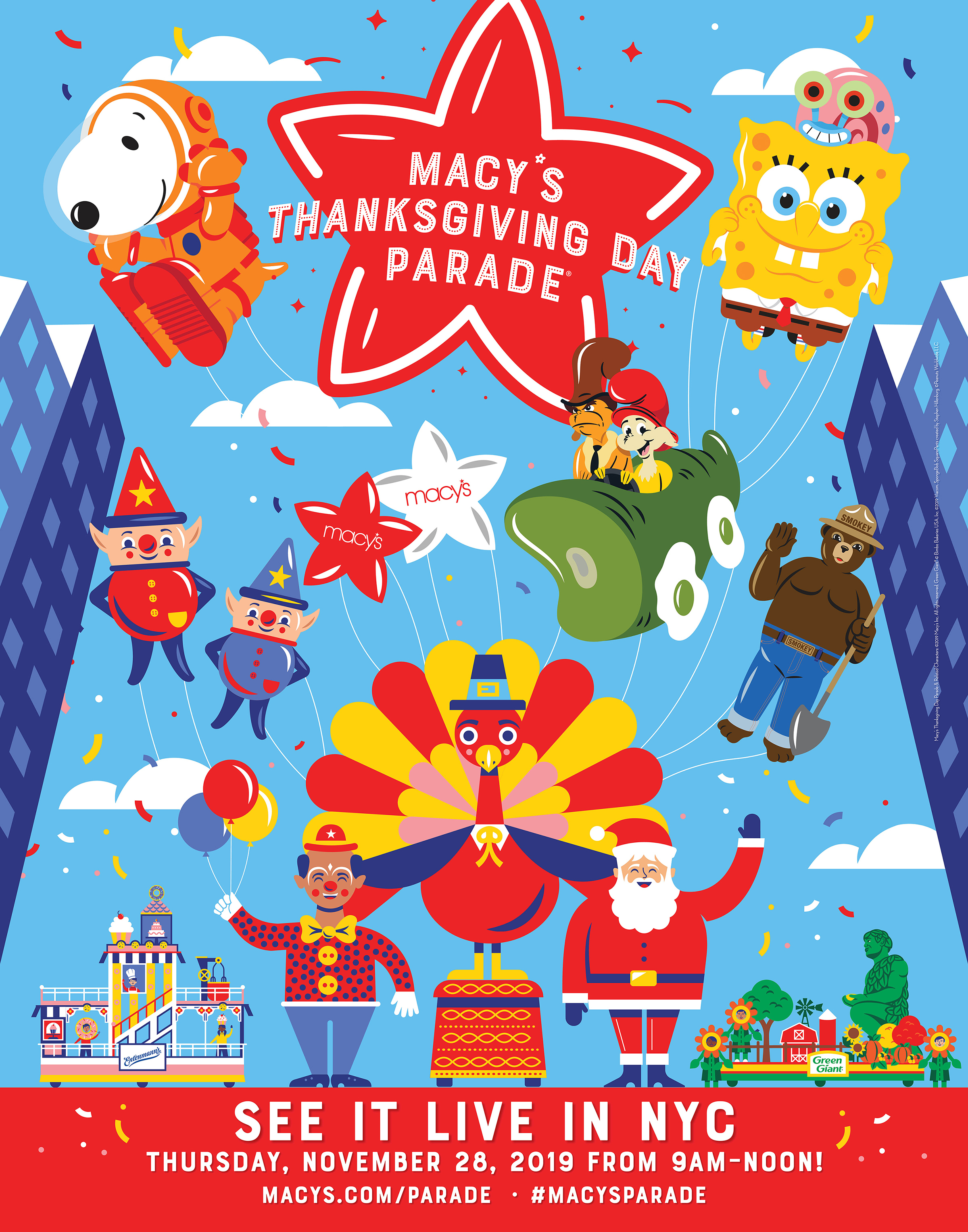 A Spectacle Like No Other The World Famous Macy S Thanksgiving Day Parade Kicks Off The Holiday Season Business Wire