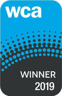 WCA 2019 Winner Logo (Graphic: Business Wire)
