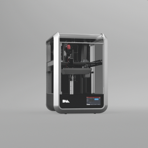 The Desktop Metal Fiber printer is the first 3D printer with AFP continuous carbon fiber reinforcement, delivering industrial fiber performance on the desktop. (Photo: Business Wire)