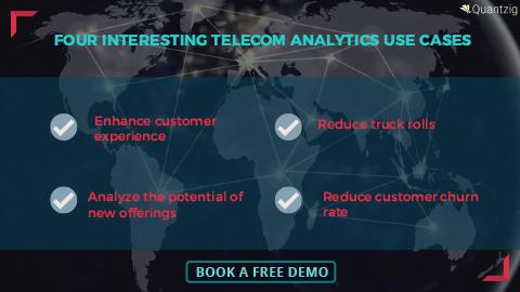 Four Telecom Analytics Use Cases