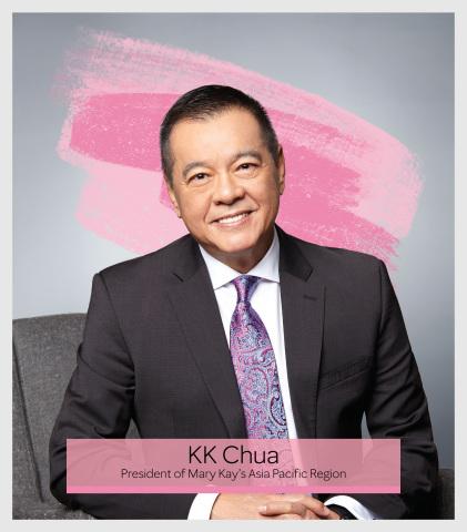 KK Chua, President of Mary Kay's Asia Pacific Region (Photo: Mary Kay Inc.)
