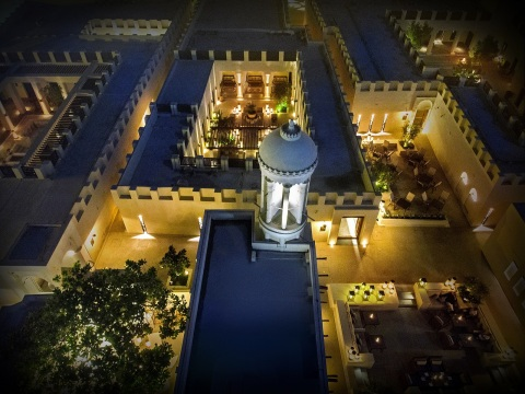 Al Bait Hotel, UAE's first 5-star luxury hotel built on a 19th-century heritage site at the Heart of Sharjah (Photo: Business Wire)