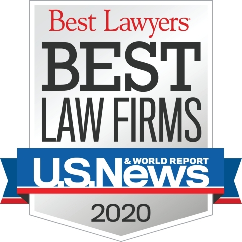 Dorsey & Whitney has received 24 national rankings and 125 metro rankings in the just-released 2020 Best Law Firms. (Logo: U.S. News – Best Lawyers)