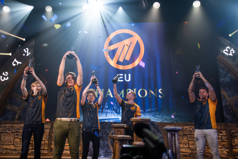After surviving a six-team double-elimination bracket, Method EU swept Method NA to secure the victory in 2019's World of Warcraft Mythic Dungeon International. (Photo: Business Wire)