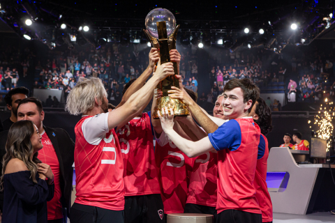 Team USA took the 2019 Overwatch World Cup, with a stunning 3-0 win over China in the gold-medal match. (Photo: Business Wire)