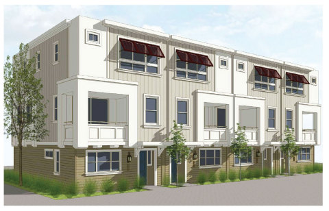 Three-Story Detached Homes Development by IHP Capital Partners and Williams Homes. (Graphic: Business Wire)