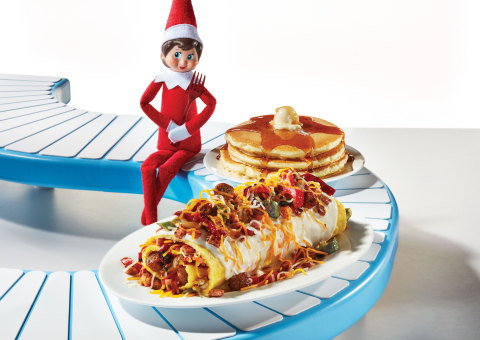 Join the tradition! At the end of November, the first group of Santa's Scout Elves depart the North Pole to make their way to homes around the world. In a weeklong celebration, families welcome back their Scout Elves with a breakfast prepared by them, or even by their Scout Elves. Come join IHOP's celebration from November 29 – December 1 with a magical menu created by our Scout Elf chefs and maybe you'll even spot IHOP's elf in the restaurant. So hurry in! (Photo: Business Wire)