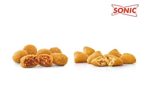 SONIC launches the all-new, portable Chili Cheese Bites and Bacon Mac & Cheese Bites. (Photo: Business Wire)