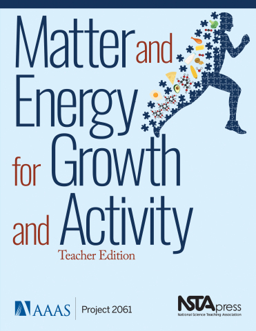 Matter and Energy for Growth and Activity book cover (Graphic: Business Wire)