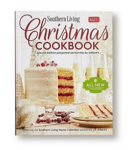 The Southern Living Christmas Cookbook is available exclusively at Dillard's. (Photo: Business Wire)