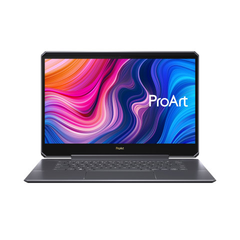 The ASUS ProArt StudioBook One (W590) will be showcased at Adobe MAX 2019 (Photo: Business Wire)