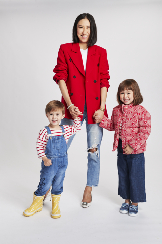 Janie and Jack and Fashion Influencer Eva Chen Debut Second Limited Edition Juno Valentine Collection (Photo: Business Wire)