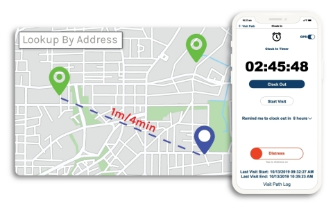 Visit Path is a real-time, GPS-enabled post-acute care delivery resource management app. (Photo: Business Wire)