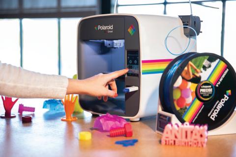 Polaroid 3D printer (Photo: Business Wire)