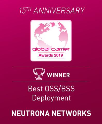 Prêmio Best BSS/OSS Deployment - Neutrona Networks (Photo: Business Wire)