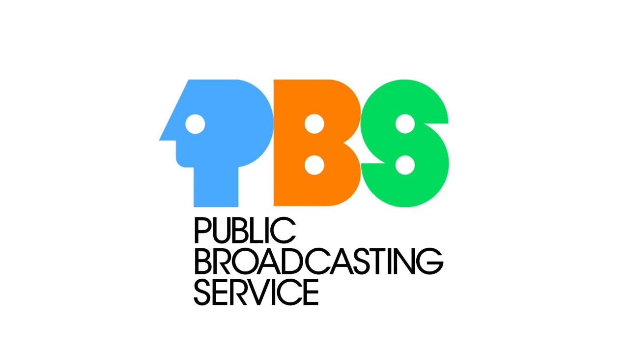 Progression of the PBS logo since 1970