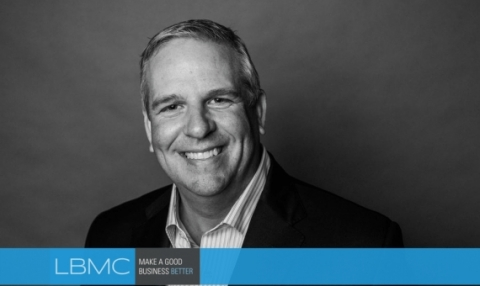 Jeff Drummonds, LBMC CEO, named 2019 Industry Giant. (Photo: Business Wire)