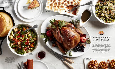 TODAY Show On-Air Talent Share Thanksgiving Recipes With Williams Sonoma (Photo: Business Wire)