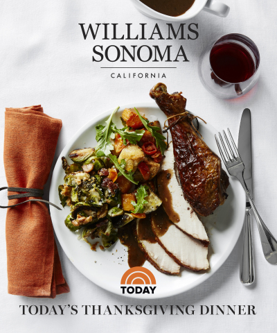 TODAY Show Shares Thanksgiving Recipes With Williams Sonoma (Photo: Business Wire)