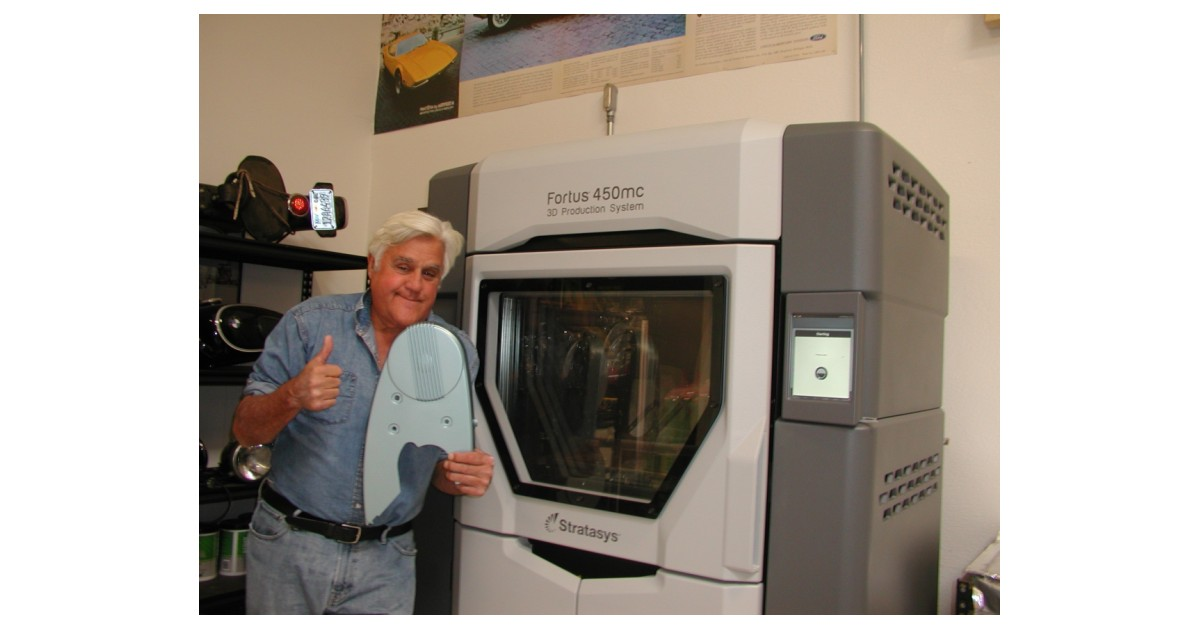 Big Dog Productions and Jay Leno Team With Stratasys to Engineer High Performance 3D Printed Parts for Classic Autos - Business Wire