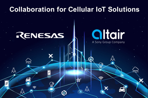 Collaboration for Cellular IoT Solutions (Graphic: Business Wire)