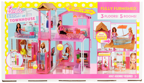 BJ's Wholesale Club announced its Black Friday deals and doorbusters on Nov. 5, 2019, giving members the chance to Seize the Savings on some of the hottest products like this Barbie 3-Story Townhouse. (Photo: Business Wire)