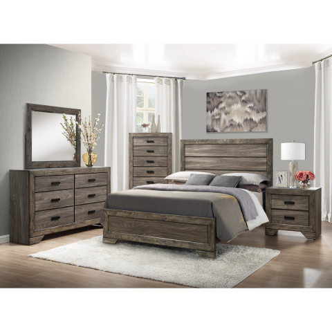 BJ's Wholesale Club announced its Black Friday deals and doorbusters on Nov. 5, 2019, giving members the chance to Seize the Savings on some of the hottest products like this Thompson 5-Pc. Queen Size Panel Bedroom Set in Gray Oak. (Photo: Business Wire)