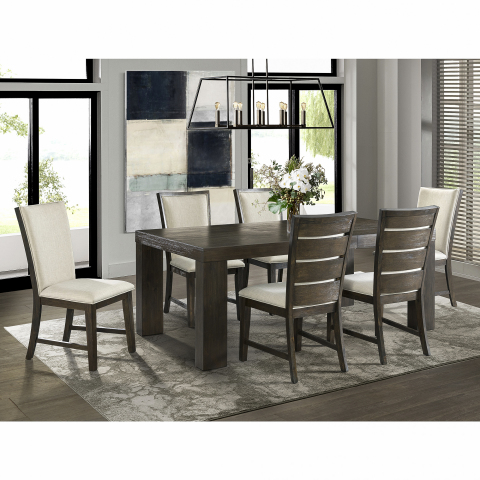 BJ's Wholesale Club announced its Black Friday deals and doorbusters on Nov. 5, 2019, giving members the chance to Seize the Savings on some of the hottest products like this Peyton 7-Pc. Standard Height Dining Set with 2 Drop-In Leaves and Walnut Finish. (Photo: Business Wire)