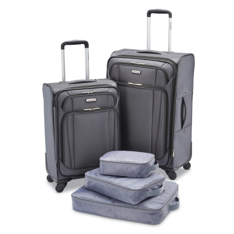 BJ's Wholesale Club announced its Black Friday deals and doorbusters on Nov. 5, 2019, giving members the chance to Seize the Savings on some of the hottest products like this Samsonite 5-Pc. Luggage Set. (Photo: Business Wire)