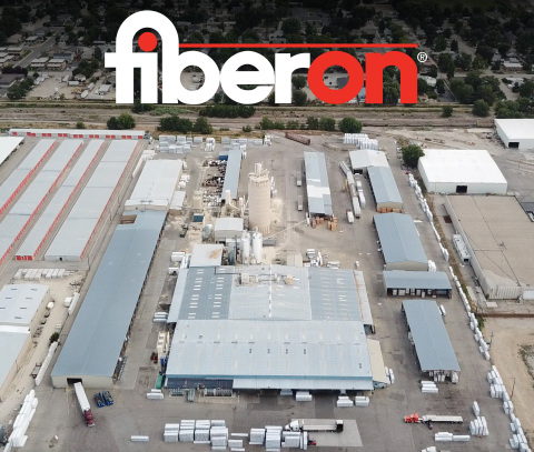 Drone images of the Fiberon facility in Meridian, Idaho; part of the company's efforts to expand bi-coastal manufacturing footprint. (Photo: Business Wire)