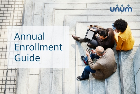 Unum's annual enrollment guide is available for download at www.unum.com/enrollment. (Photo: Business Wire)