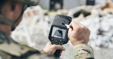 As FLIR Systems' most advanced handheld explosives trace detector, the Fido X4 delivers unmatched sensitivity for a broad range of explosives, so users can detect threats at levels other devices cannot. (Photo: Business Wire)