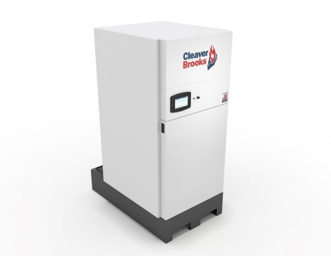 The ClearFire-CE condensing boiler from Cleaver-Brooks was voted Most Valuable Product of 2019 (Photo: Business Wire)