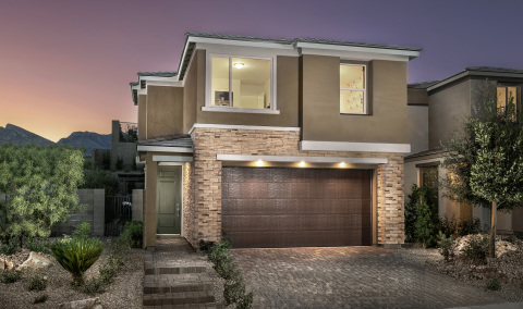 New KB homes now available in Las Vegas. (Photo: Business Wire)
