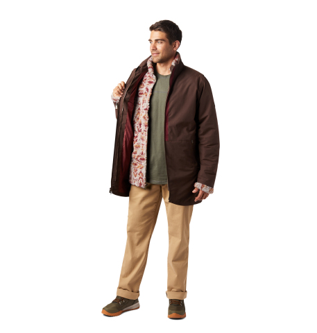 The 3-in-1 Kristoff Interchange Jacket features a waterproof-breathable shell and removable plush Sherpa fleece liner that is richly detailed with a Nordic-inspired print. (Photo: Business Wire)