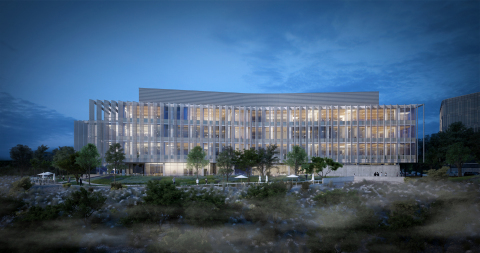 Rendering of Franklin Antonio Hall, courtesy of UC San Diego. (Photo: Business Wire)
