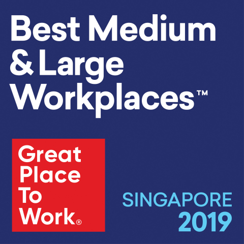 Agilent has been named a Best Workplace in Singapore for 2019 by the Great Place to Work Institute. (Graphic: Business Wire)