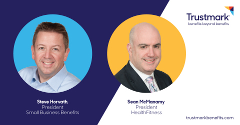 Steve Horvath, President Small Business Benefits and Sean McManamy, President HealthFitness (Photo: Trustmark)
