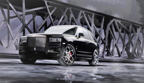 Rolls-Royce Completes Black Badge Family With Black Badge Cullinan (Photo: Business Wire)