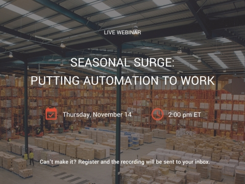 Seegrid Hosts Live Webinar (Graphic: Business Wire)