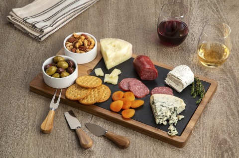 BJ's Wholesale Club announced unbeatable Thanksgiving deals on Nov. 7, 2019, including the Berkley Jensen 7-Pc. Charcuterie Set for $19.99, available in-club and on BJs.com. (Photo: Business Wire)