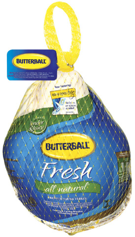 BJ's Wholesale Club members can get a free fresh or frozen Butterball turkey from Nov. 14, 2019 to Nov. 27, 2019 with coupon while supplies last when they buy any three qualifying items. (Photo: Business Wire)