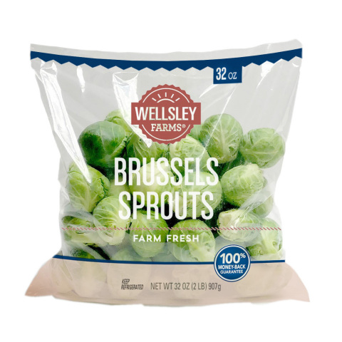 BJ's Wholesale Club announced unbeatable Thanksgiving deals on Nov. 7, 2019, including Wellsley Farms Brussels Sprouts, 2 lbs. for $3.99 from Nov. 14 - Dec. 11, 2019, available in-club and with same-day delivery. (Photo: Business Wire)