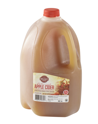 BJ's Wholesale Club announced unbeatable Thanksgiving deals on Nov. 7, 2019, including Wellsley Farms Apple Cider, 1 gallon for $3.99, available in-club and with same-day delivery. (Photo: Business Wire)