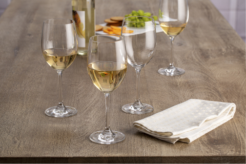 BJ's Wholesale Club announced unbeatable Thanksgiving deals on Nov. 7, 2019, including the Berkley Jensen Wine Glass Set, 8 pk. for $19.99, available in-club and on BJs.com. (Photo: Business Wire)