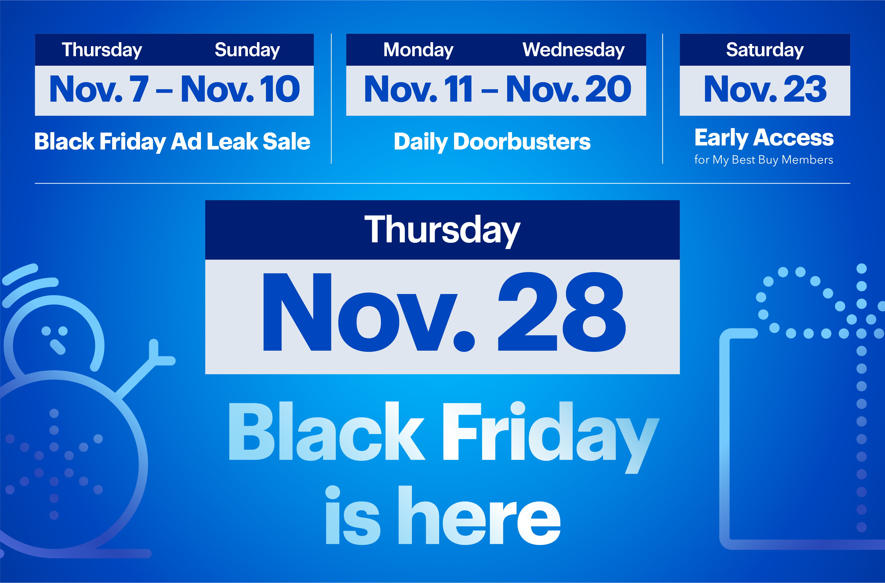 Best Buy S Black Friday Ad Is Here Hundreds Of Deals Including Apple Doorbusters Available Now Business Wire