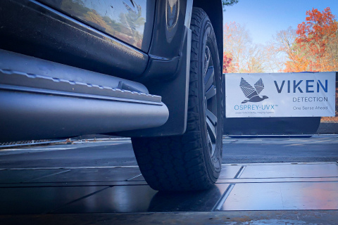 Osprey UVX is a fixed, in-the-ground system that provides real-time undercarriage and lower vehicle imaging. (Photo: Business Wire)