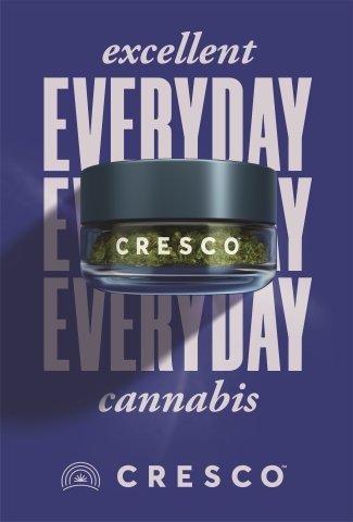 "Cresco Labs ""Excellent Everyday Cannabis"" campaign kicks off in California highlighting the importance of quality and consistent cannabis products (Graphic: Business Wire)"